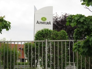 Alnatura firm sign
