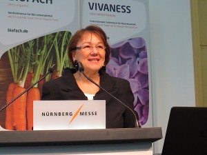 Elfriede Dambacher, expert in natural & oragnic cosmetic markets