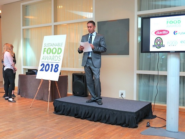 Amarjit Sahota, Sustainable Food Awards