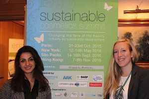 The next events of Organic Monitor presented by Sahar Rouhani (left) and Janina Wolfert