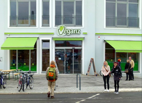 Veganz supermarket in Berlin