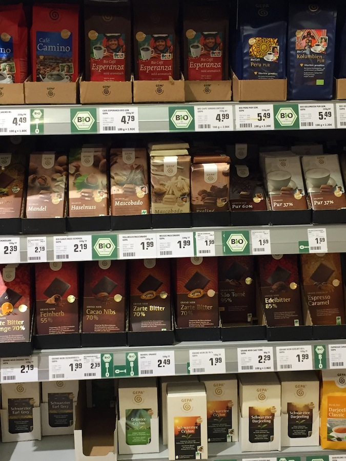 GEPA product assortment at Rewe