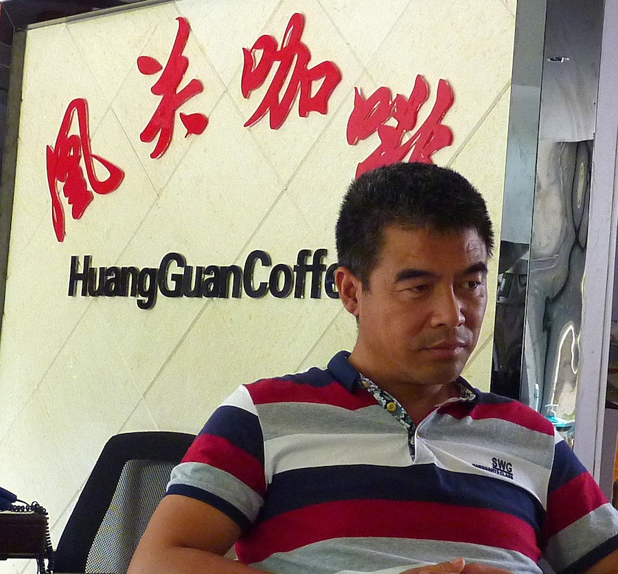 organic coffee from China is a trend.