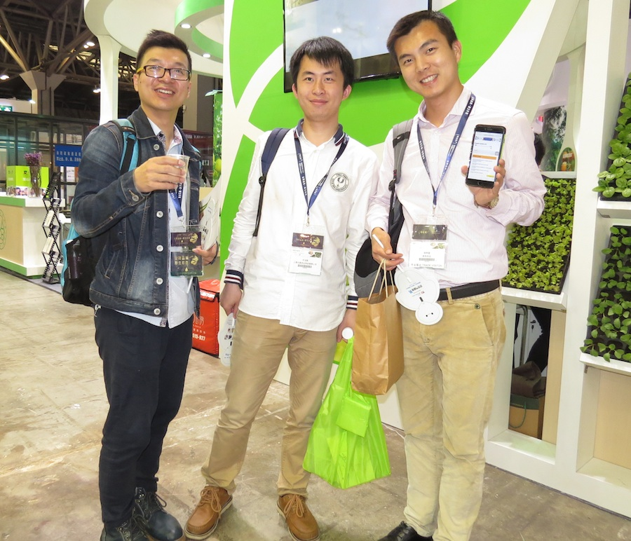 Business men from the organic sector at the 2016 show in Shanghai.