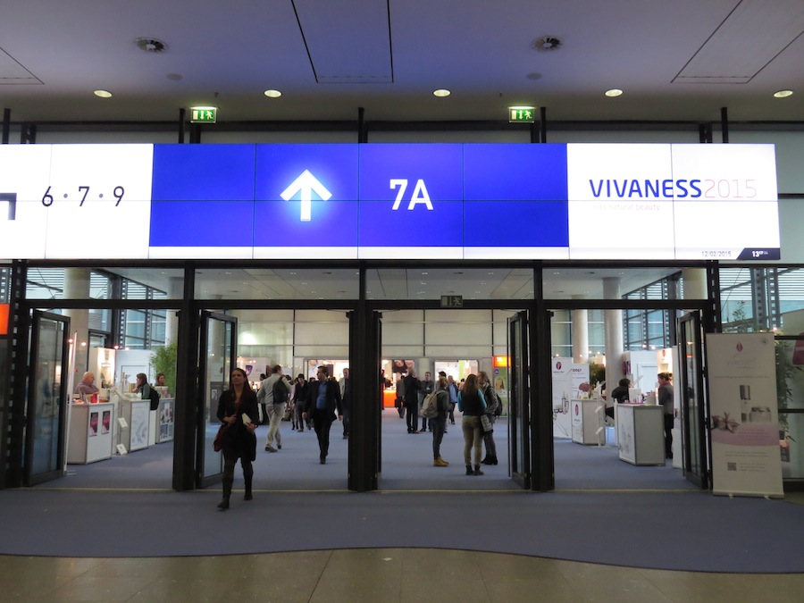 Entrance to Vivaness hall 7 A