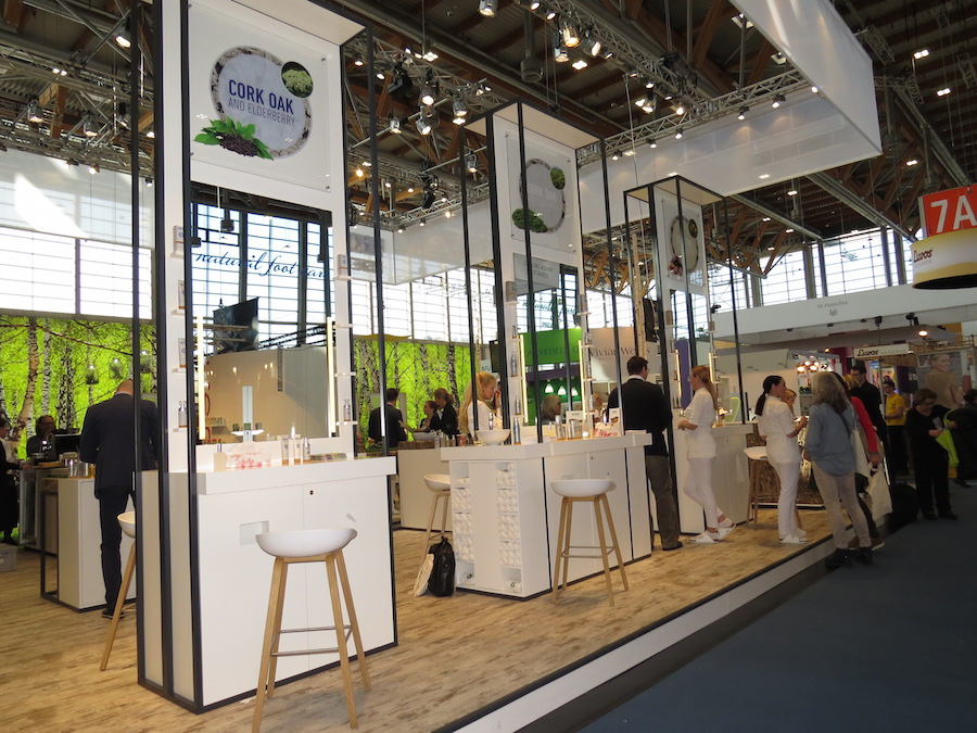 Birkenstock Natural Care booth at Vivaness