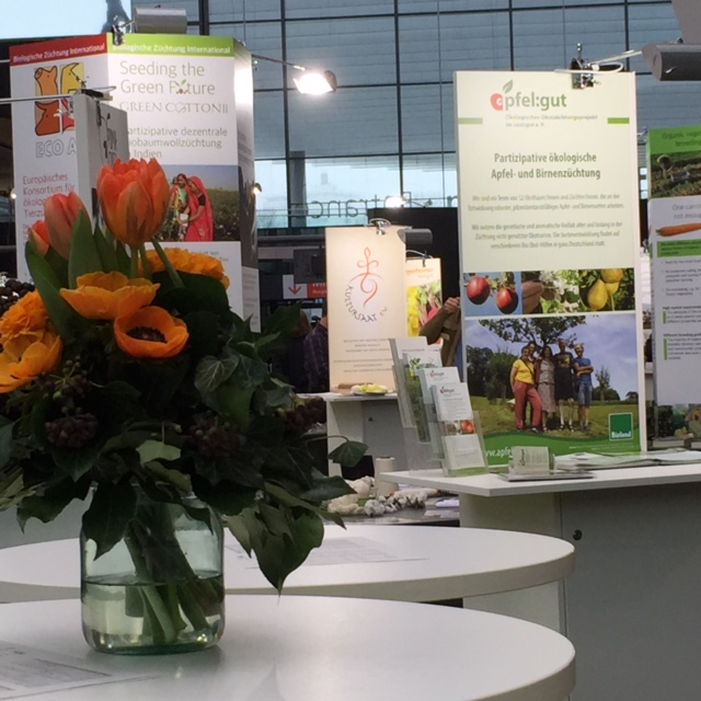 Seed breeding was an important topic at Biofach.