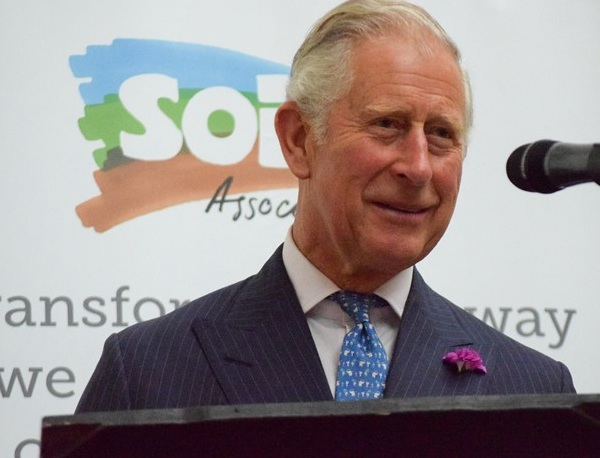 Prince Charles was speaker at the 70th anniversary of Soil Association