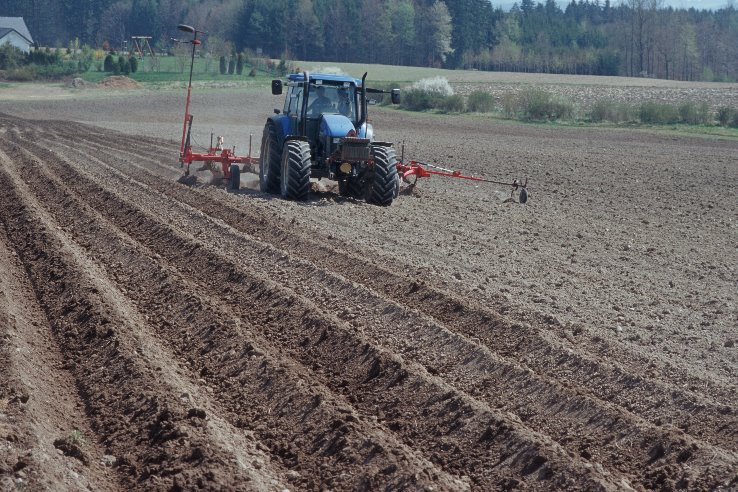 Healthy organic soils can combat climate change. (photo Oekolandbau.de)