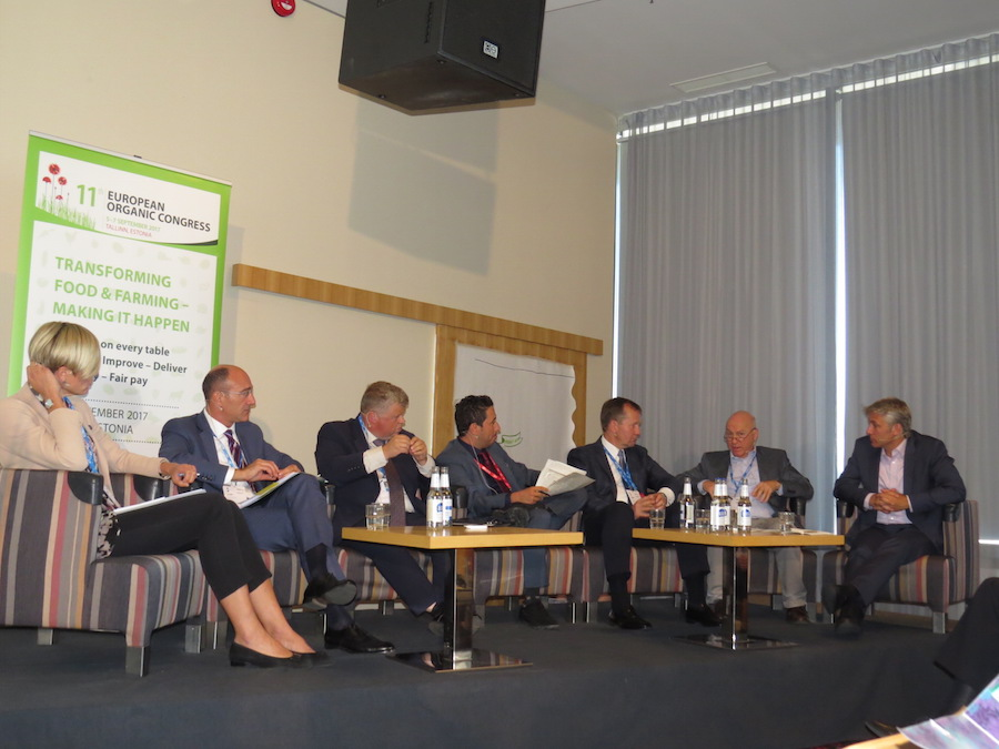 Discussion with EU policymakers from the EU