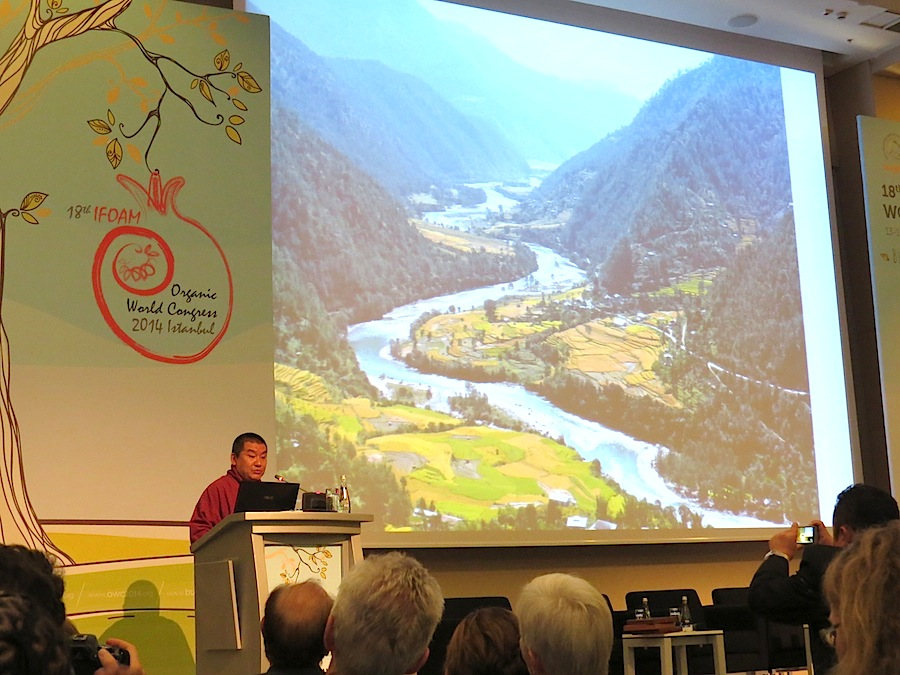 Bhutan´s Agricukture Minister was speaker at the OWC in Turkey.