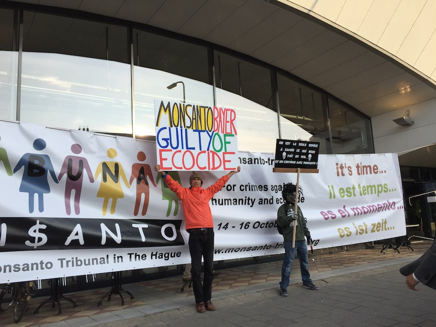 First day of People´s Assembly together with Monsanto Tribunal in The Hague