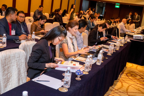 Audience at the 1. Sustainable Food Summit Asia.
