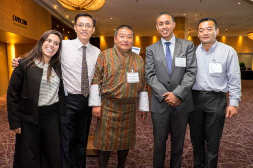 Organisers and speakers at the first Sustainable Food Summit Asia in Singapore.