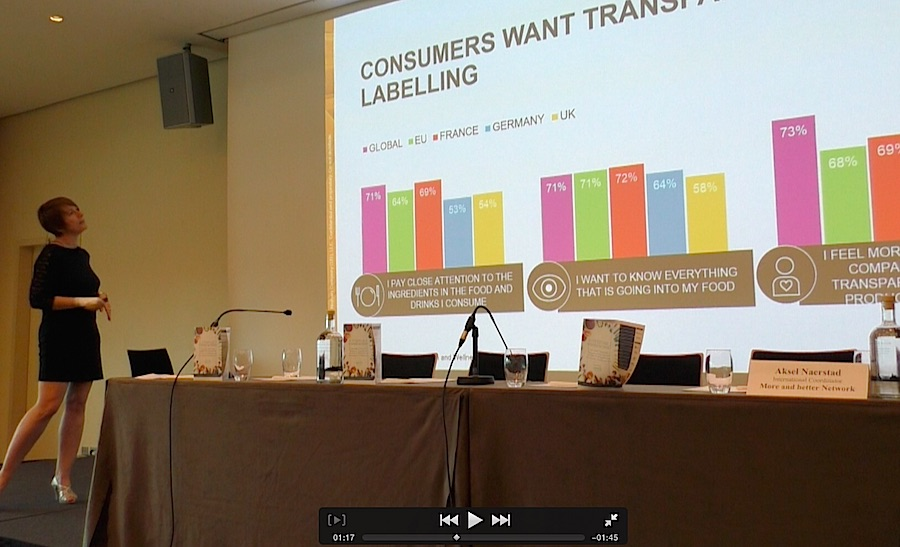 Nielsen data show that consumers are claiming for more transparency and more sustainable products. Photo Karin Heinze