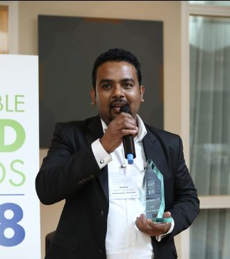Climate neutral tea from Sroi Lanka wins the Sustainable Food Award. Photo c Ecovia Intelligence
