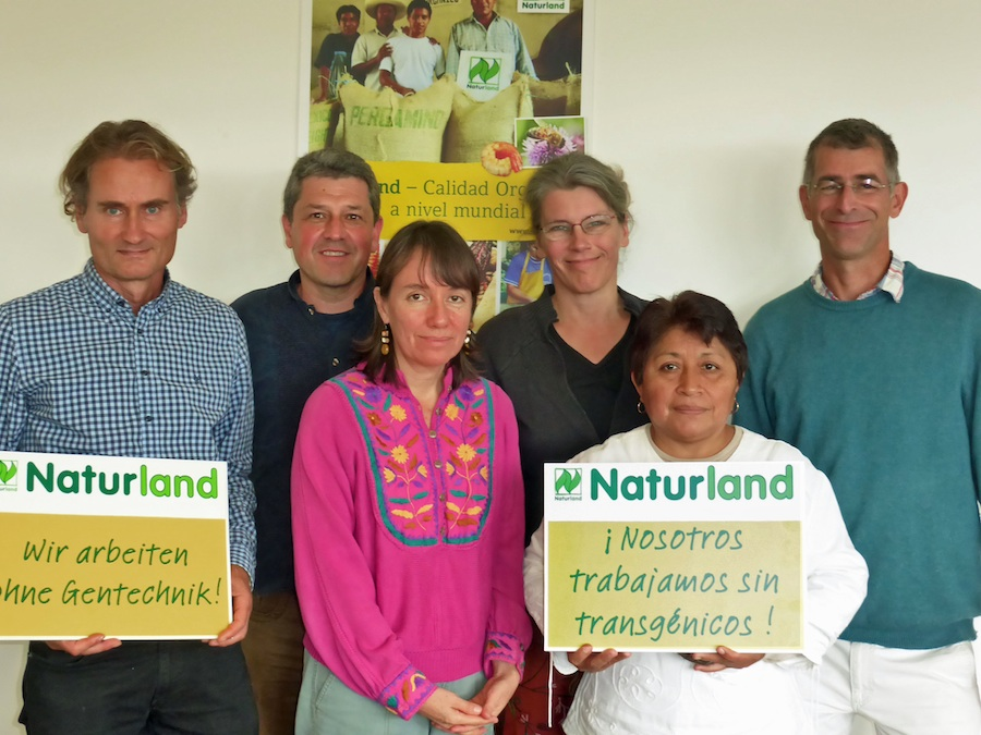 Meeting with Mayan beekeepers from Mexico at Naturland headquarter in Germany.