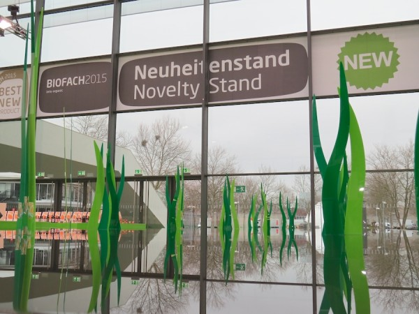Novelties area at BioFach