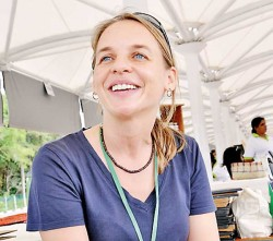 Amanda Kiessel is the  driving power behind Good Market and other initiatives. Photo Good Market