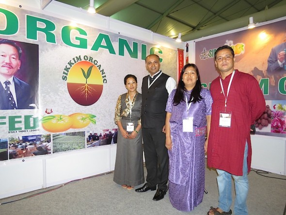 Sikkim is the first federal state in India to convert its agriculture totally to organic