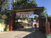 Welcome sign in Sikkim