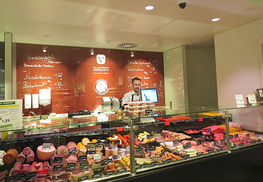 Biomanufaktur Havelland is the main producer for meat and sausages sold in Bio Company stores.
