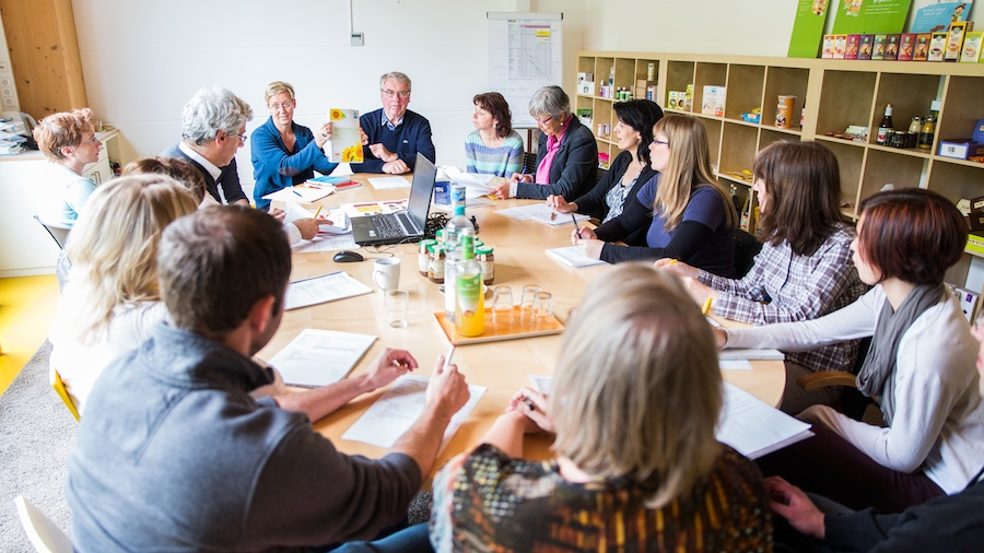 Discussion at Claus-Pural in Baden-Baden (picture: Claus-Pural)