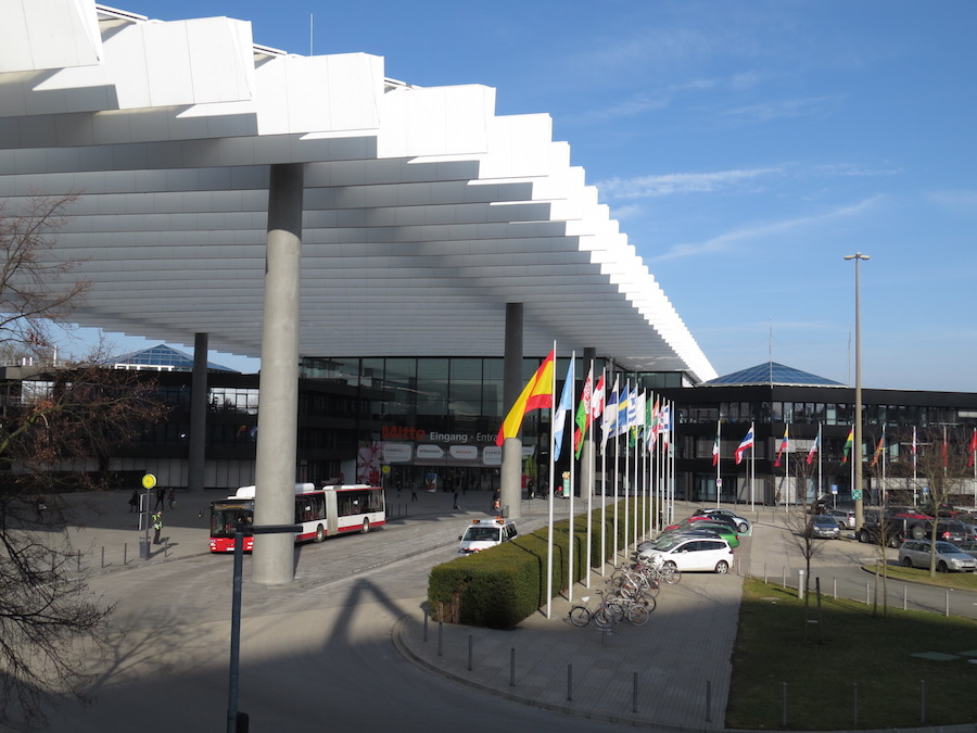 Main entrance NürnbergMesse
