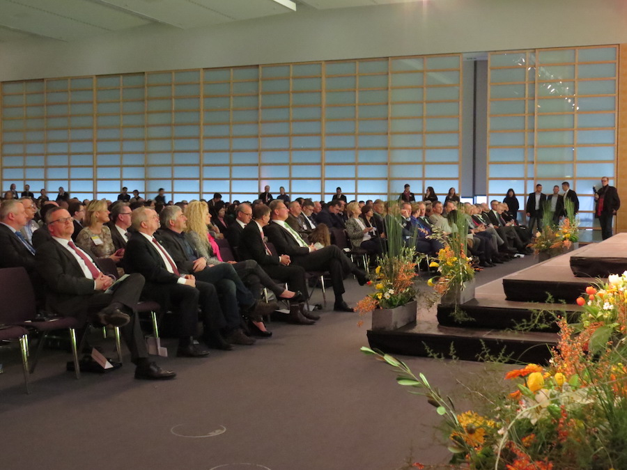 Ministers and representatives from many countries attended the opening