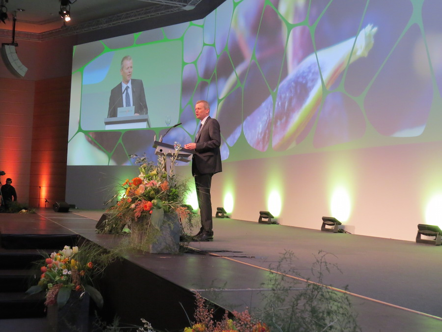Nuremberg´s mayor Ulrich Maly welcomes the BioFach Vivaness guests