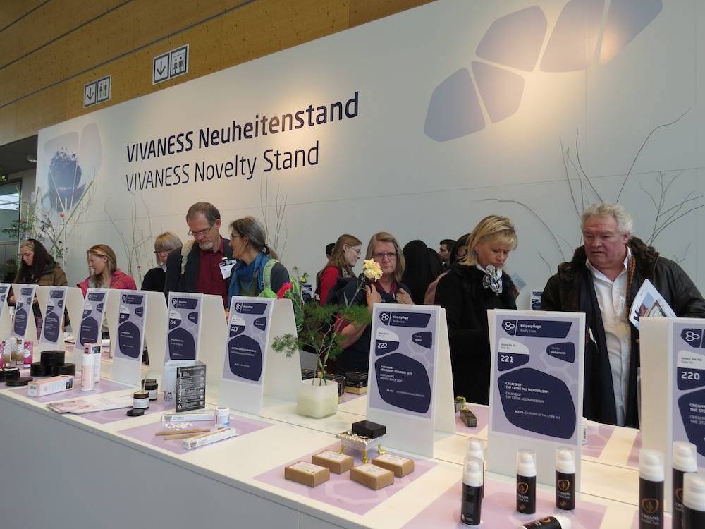 Vivaness Novelties Stand at Biofach 2018.