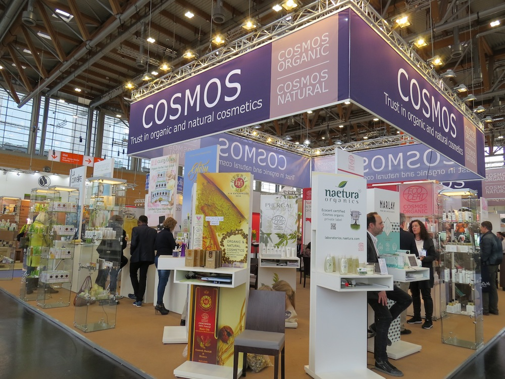 Many international companies gathered at the COSMOS and at the NATRUE pavilion.