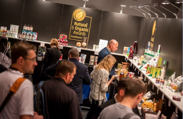 Visitors were very interested in the products that won the Natural & Organic Awards.