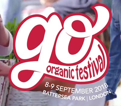 New event in London: GO! Organic festival. Photo c Go Organic website.