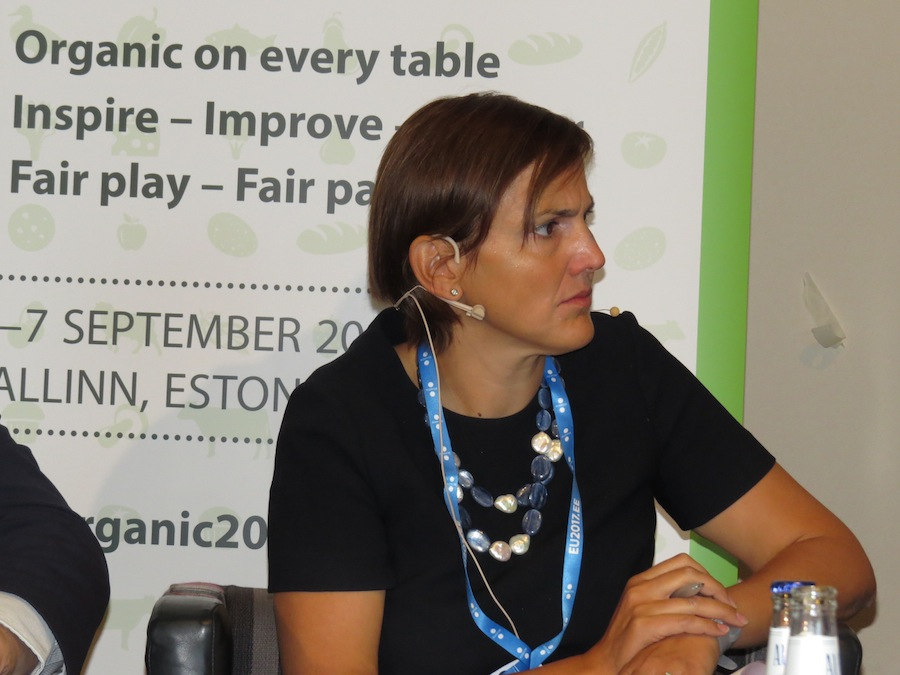 Elena Panichi, Brussels, is involved in the official negotiations of the EU Organic Regulation