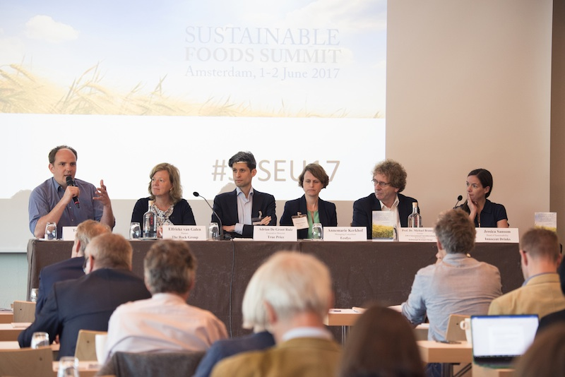 Last year´s Sustainable Food Summit in Amsterdam. Photo Ecovia