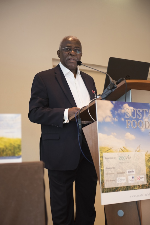 Dr. Kanayo F. Nwanze, former president of International Fund for Agricultural Development (IFAD)