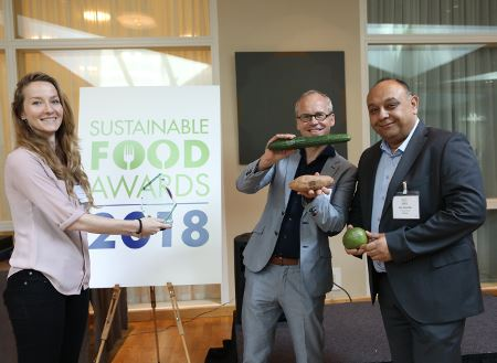 Eosta was the Winner of the Sustainable Food Award. Photo Ecovia c Intelligence