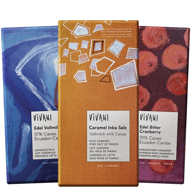 Germany: Ecofinia wraps chocolate brand Vivani in eco packaging